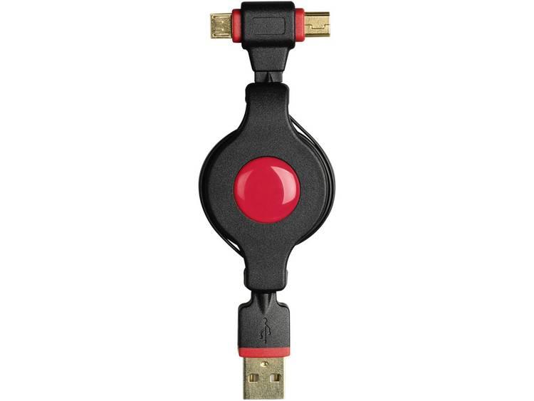 Mini-Micro-USB-kabel Roll