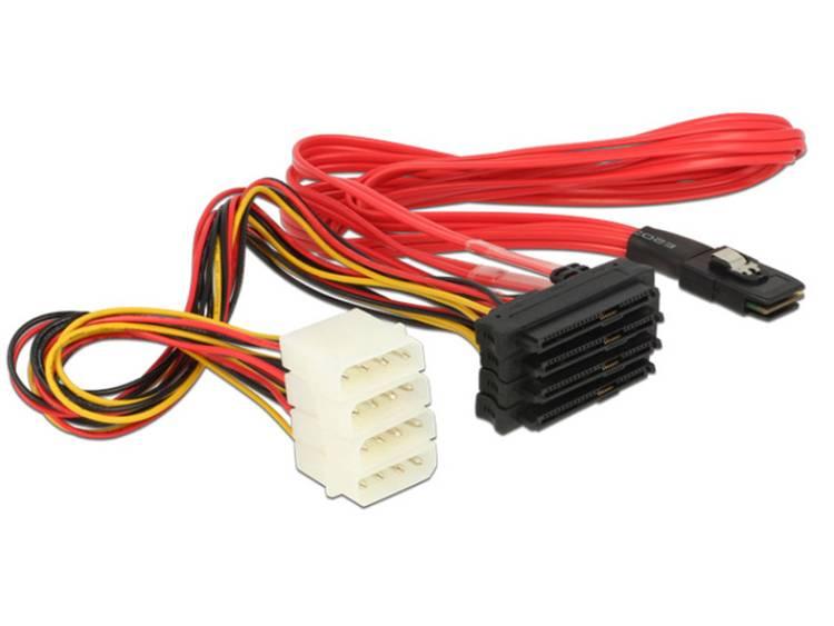 Aansluitkabel Delock Harde schijf [1x Mini SAS stekker SFF 8087 4x SATA comb