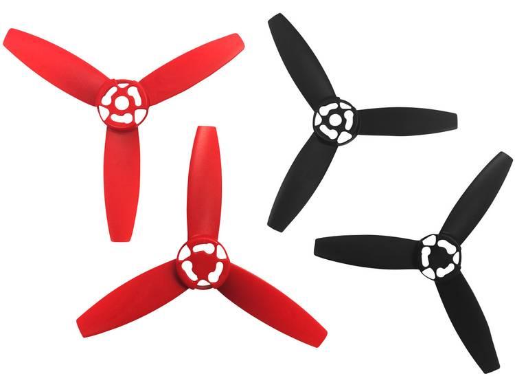 Parrot 3-blads Dronepropellerset 21596 Parrot Bebop red