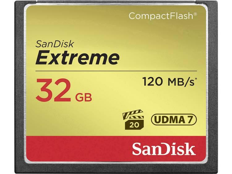 SanDisk Extreme® CF-kaart 32 GB