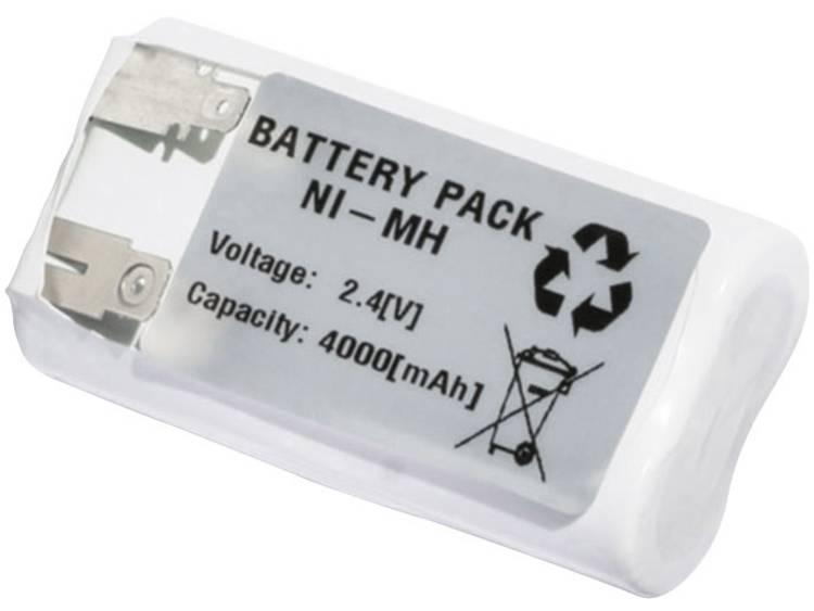Emmerich 2443FA4000R Accu voor noodverlichting N/A U-soldeerlip 2.4 V 4000 mAh