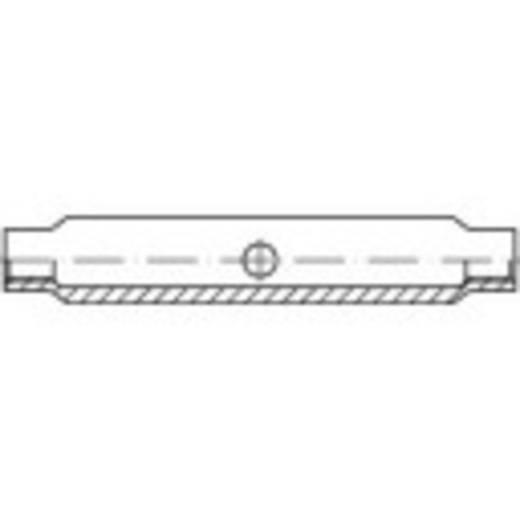 Spanmoer M8 Staal galvanisch verzinkt TOOLCRAFT 136558 DIN 1478 10 stuks