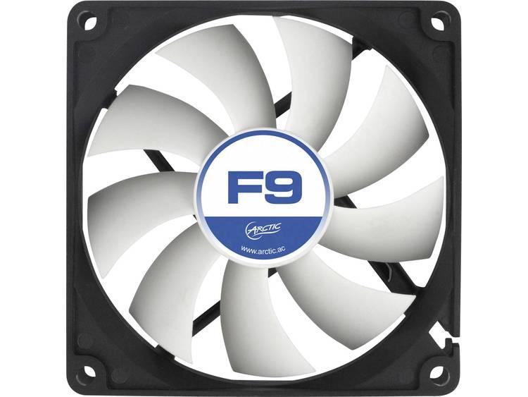 PC ventilator Arctic F9 Zwart, Wit (b x h x d) 92 x 92 x 25 mm