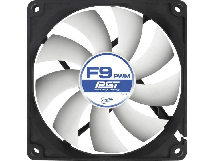 PC ventilator Arctic F9 PWM PST Zwart, Wit (b x h x d) 92 x 92 x 25 mm