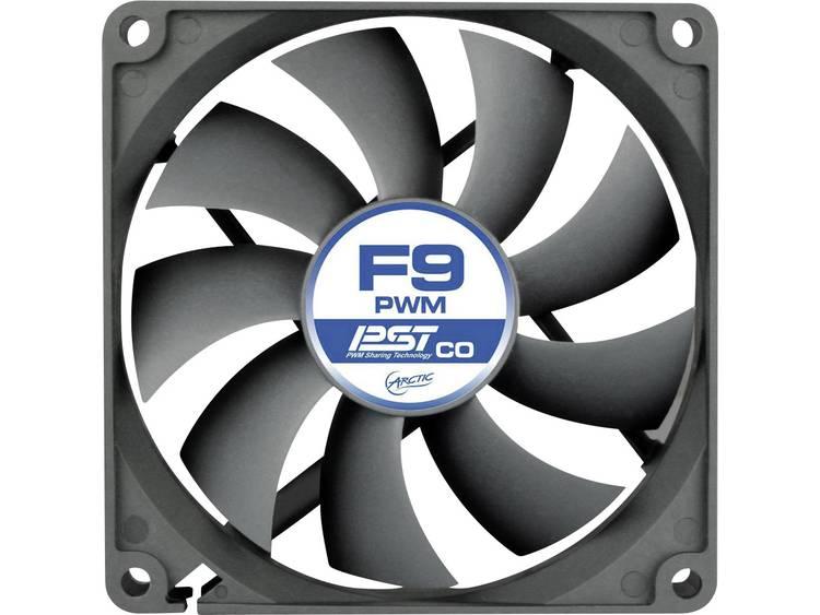 PC ventilator Arctic F9 PWM PST CO Zwart (b x h x d) 92 x 92 x 25 mm