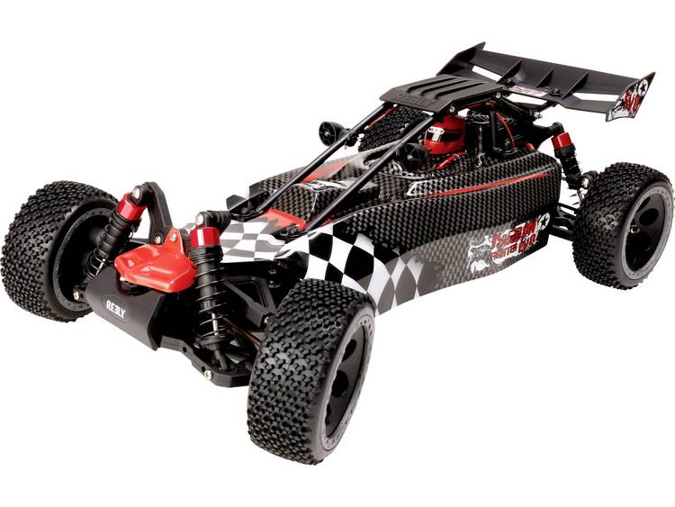 Reely Carbon Fighter EVO 1:10 RC auto Elektro Buggy 4WD Bouwpakket