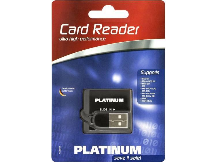 Platinum 177604-3 Externe geheugenkaartlezer USB 2.0