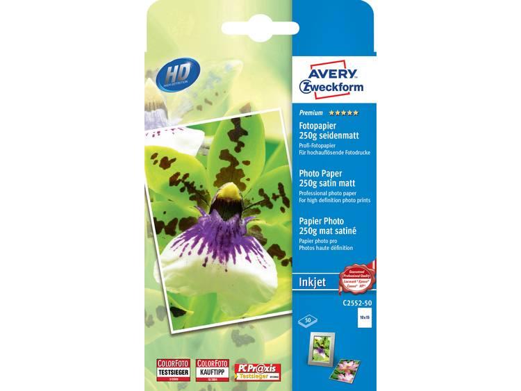 Avery Zweckform Premium Photo Paper Inkjet C2552 50 Fotopapier 10 x 15 cm 250 g