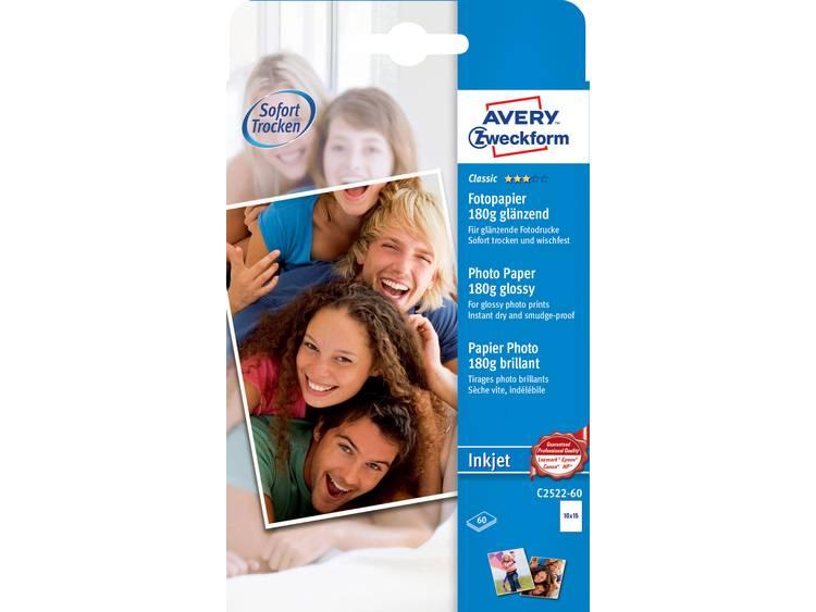Avery Zweckform Classic Photo Paper Inkjet C2522 60 Fotopapier 10 x 15 cm 180 g
