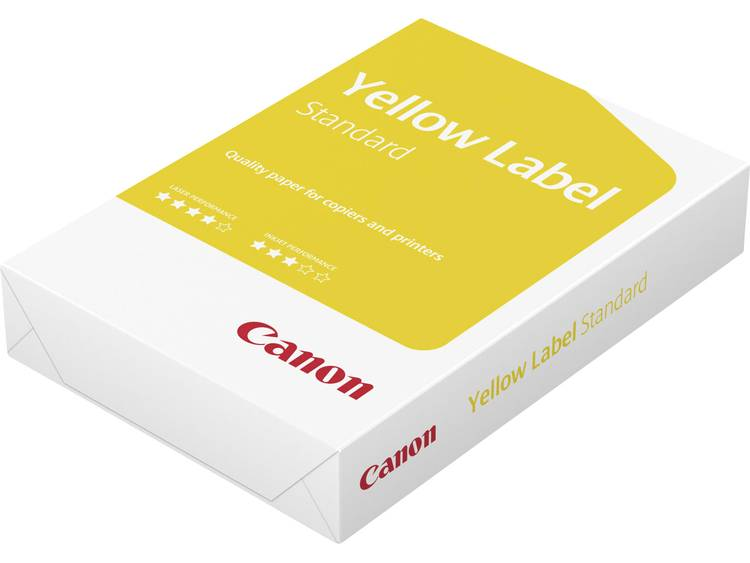 Printpapier Canon Yellow Label Standard 96600554 DIN A4 80 g/m² 500 vellen Wit