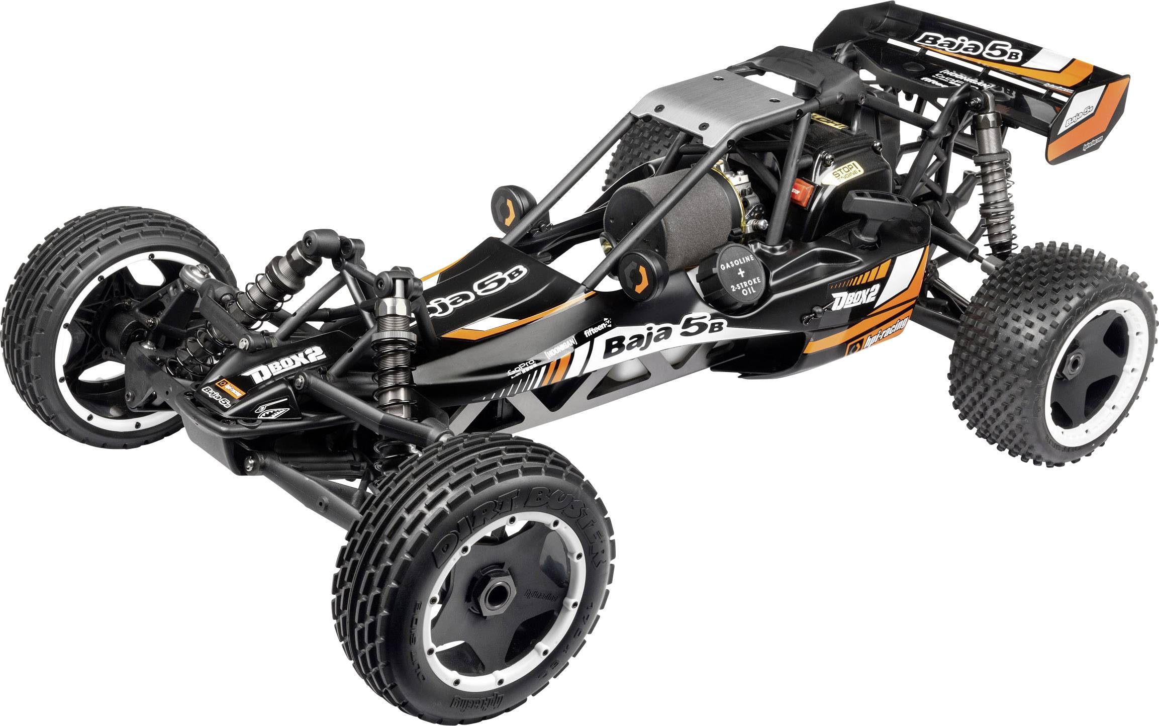 hpi racing baja 5b 1 5 rc auto benzine buggy. Black Bedroom Furniture Sets. Home Design Ideas