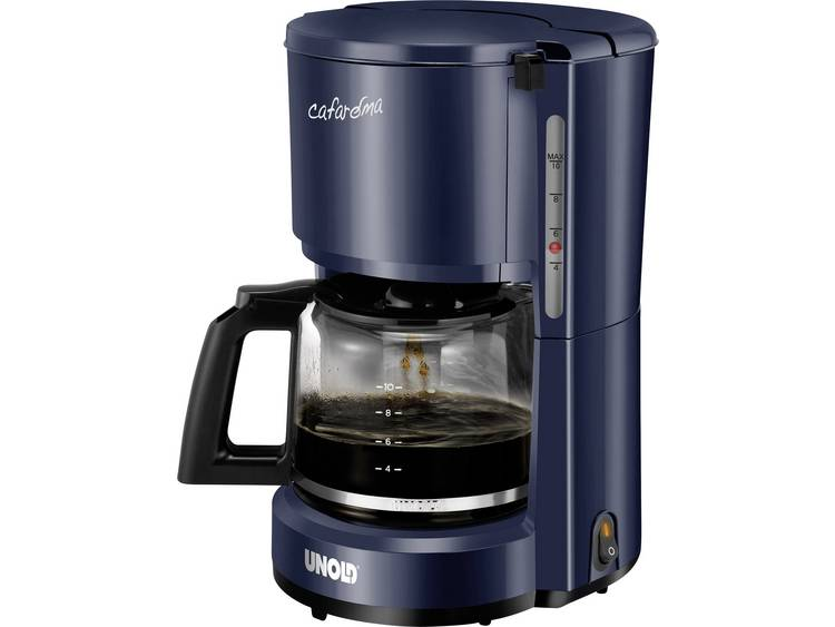Unold Compact Koffiezetapparaat Blauw Capaciteit koppen: 10 Warmhoudfunctie