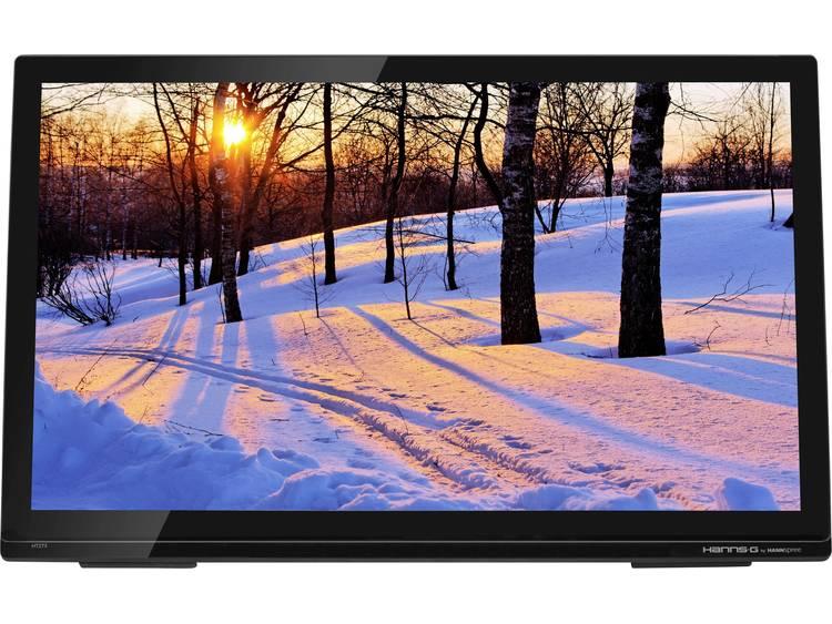 Touchscreen monitor 68.6 cm (27 inch) Hanns-G HT273HPB 1920 x 1080 pix 16:9 8 ms HDMI, VGA, Hoofdtelefoon (3.5 mm jackplug) IPS LED