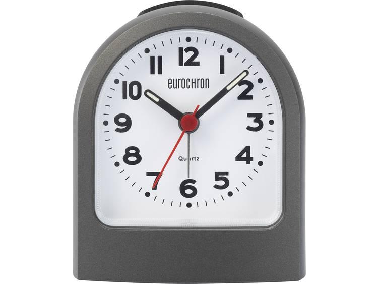 Eurochron EQW 7400 Quarz Wekker Zwart Alarmtijden 1