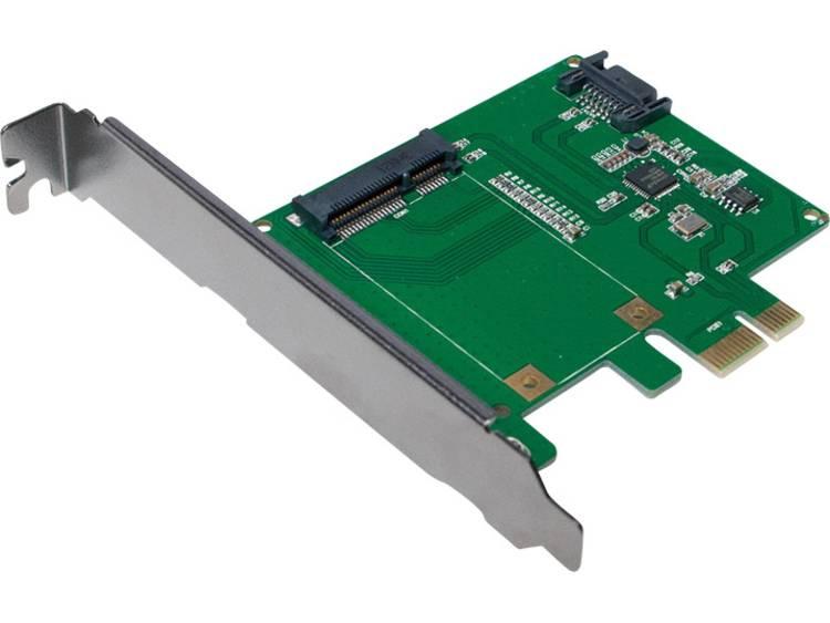 LogiLink PC0077 0+2 poorten SATA III-controllerkaart PCIe