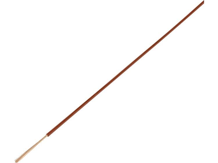 TRU COMPONENTS 1568690 Voertuigsnoer FLRY-B 1 x 1 mm² Oranje 50 m