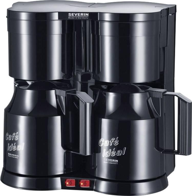 Image of Koffiezetapparaat Severin KA 5828 Duo Zwart Capaciteit koppen=8 Thermoskan