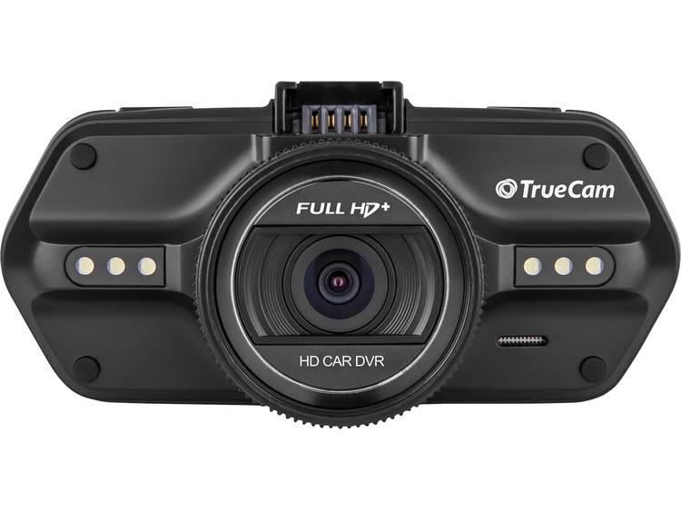 TrueCam Autocamera met GPS 12 V, 24 V Kijkhoek horizontaal: 130 �