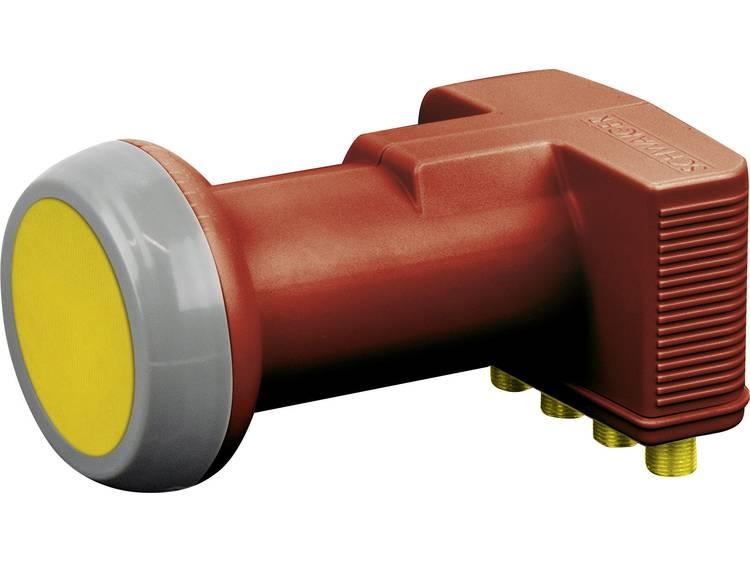 Quad LNB Schwaiger Feed-opname: 40 mm Weerbestendig