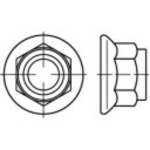 Borgmoeren M6 DIN 1663 Staal galvanisch verzinkt 100 stuks TOOLCRAFT 137204
