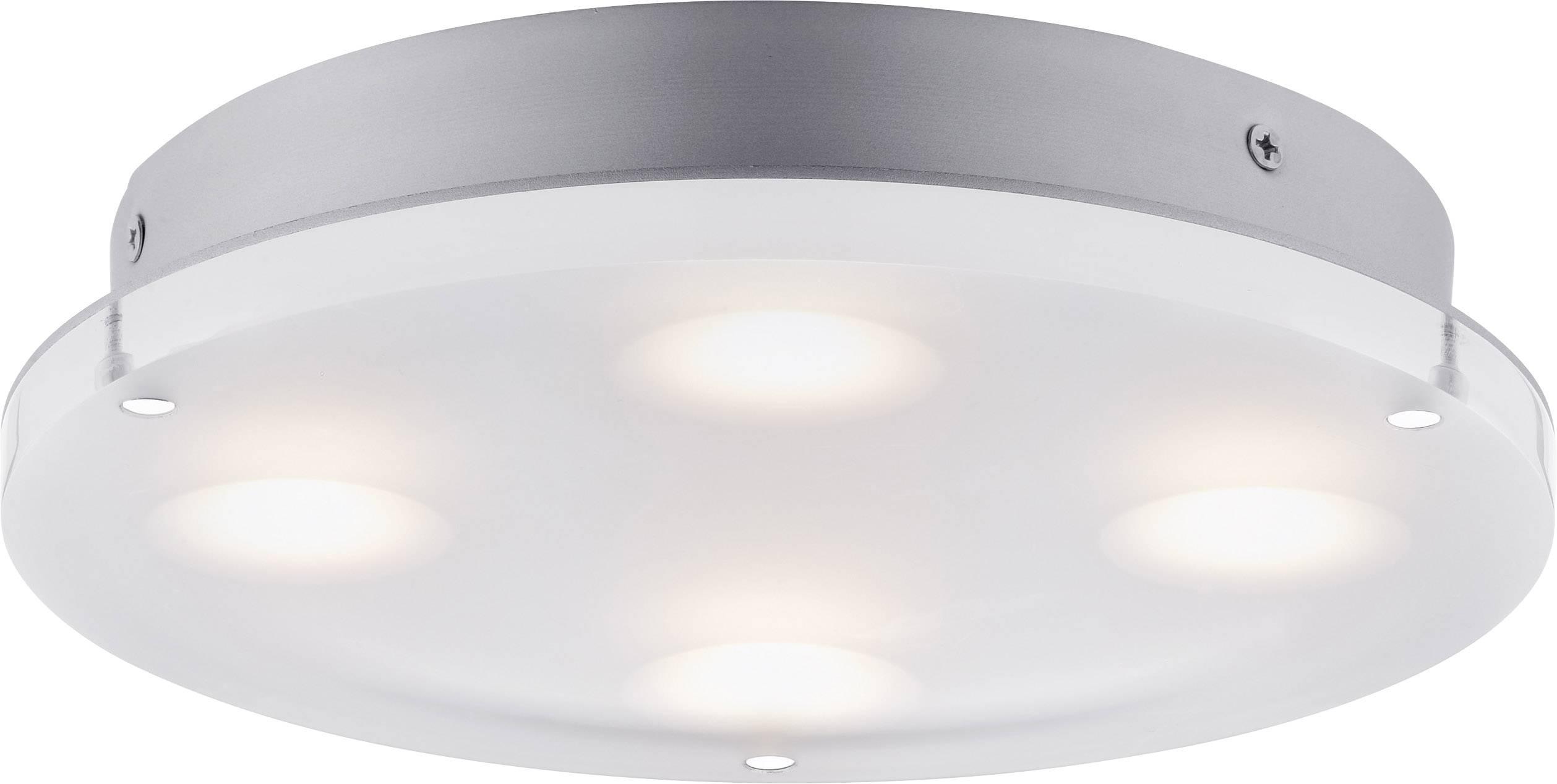 Badkamer Plafondlamp Led : Led plafondlamp voor badkamer w paulmann minor satijn