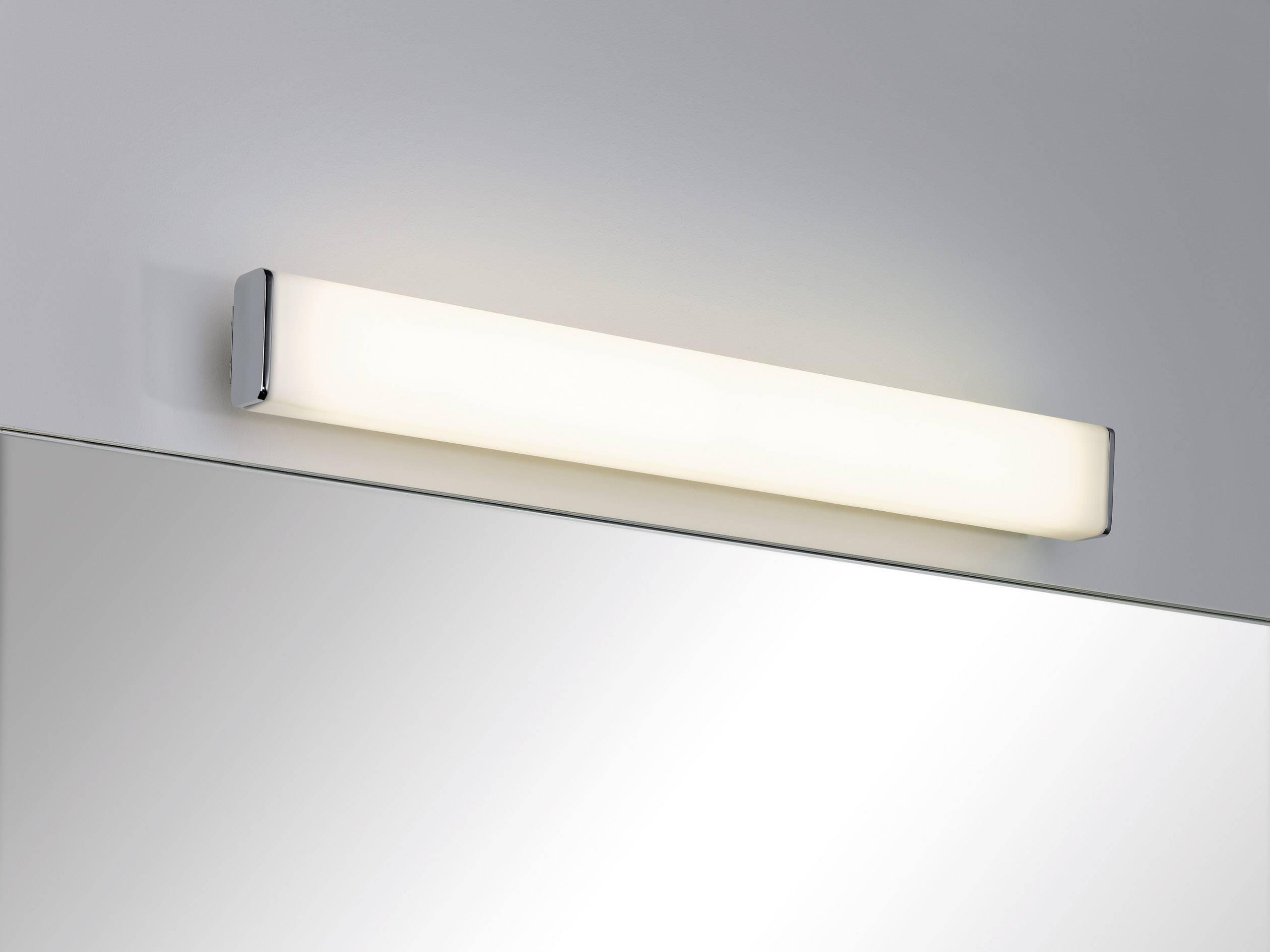 Badkamer Wandlamp Chroom : Led badkamer wandlamp 9 w warm wit paulmann 70464 nembus chroom