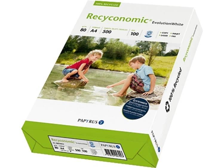 Papyrus Recyconomic Evolution Gerecycled printpapier DIN A4 80 g/m² 500 vellen Wit