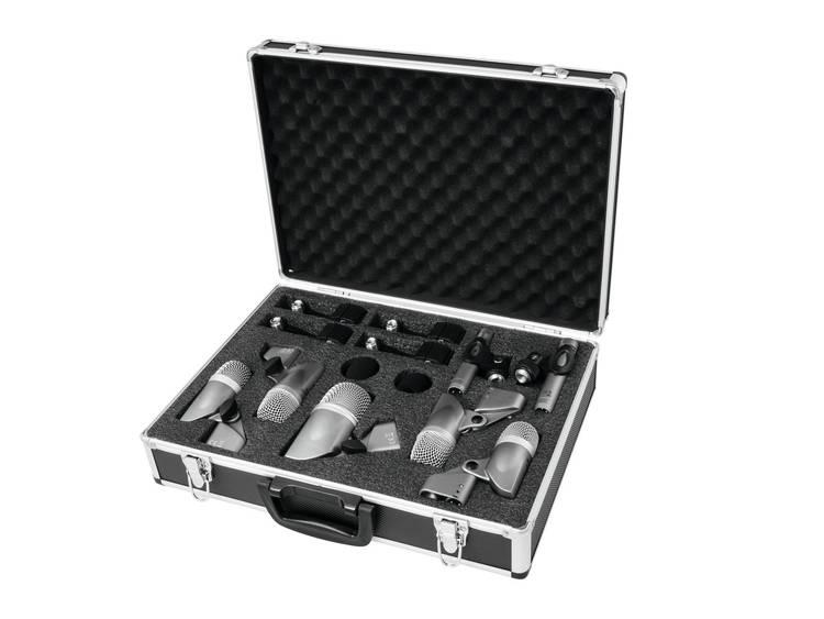 Omnitronic MIC 77-7LMH drummicrofoonset