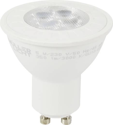 led lamp gu10 reflector 5 w 42 w warmwit dimbaar m ller licht 1 stuks. Black Bedroom Furniture Sets. Home Design Ideas
