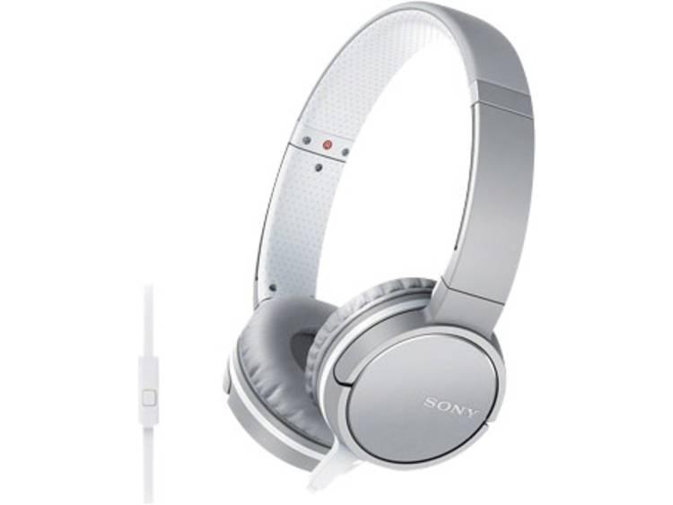 Sony MDR-ZX660AP Koptelefoon On Ear Headset Wit
