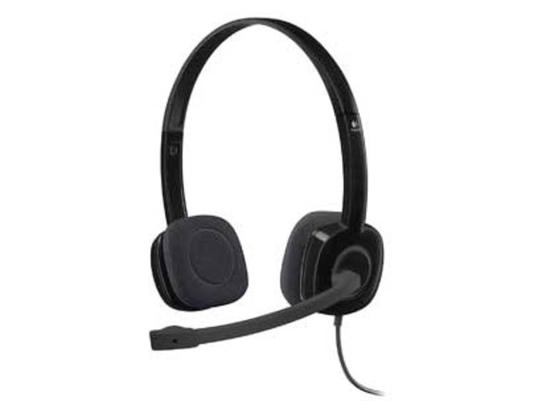 Logitech H151 PC-headset 3.5 mm jackplug Kabelgebonden, Stereo On Ear Zwart