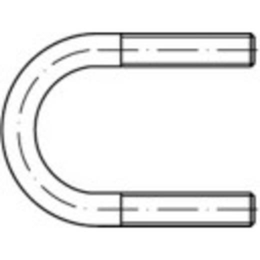 TOOLCRAFT Rondstaalbeugels (Ø) 332 mm M20 DIN 3570 Staal thermisch verzinkt 1 stuks