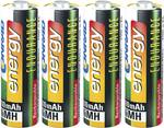 Conrad energy Endurance oplaadbare NiMH AA-batterijen (penlite) 2600 mAh, set van 4