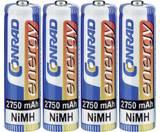 Oplaadbare AA batterijen