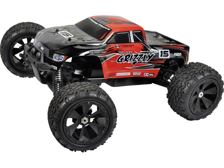 T2M Brushless 1:8 RC auto Elektro Monstertruck 4WD RTR 2.4 GHz