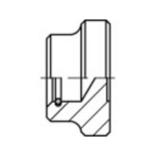 TOOLCRAFT 137883 Pressure pieces M16 Staal 10 stuks