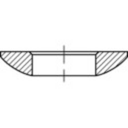 TOOLCRAFT 137885 Kogelschijven Binnendiameter: 6.4 mm DIN 6319 Staal 50 stuks