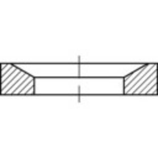 TOOLCRAFT 137927 Kogelschijven Binnendiameter: 23.2 mm DIN 6319 Staal galvanisch verzinkt 10 stuks