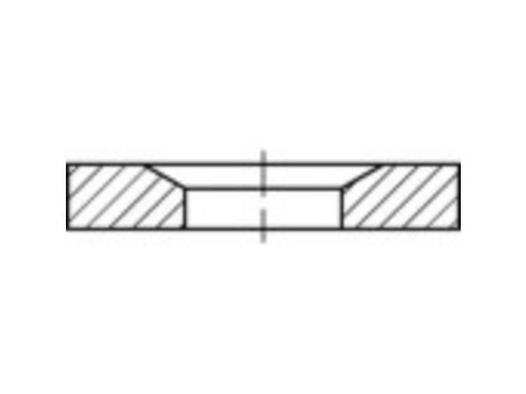 Conische zetels DIN 6319 Staal 10 stuks TOOLCRAFT 137916