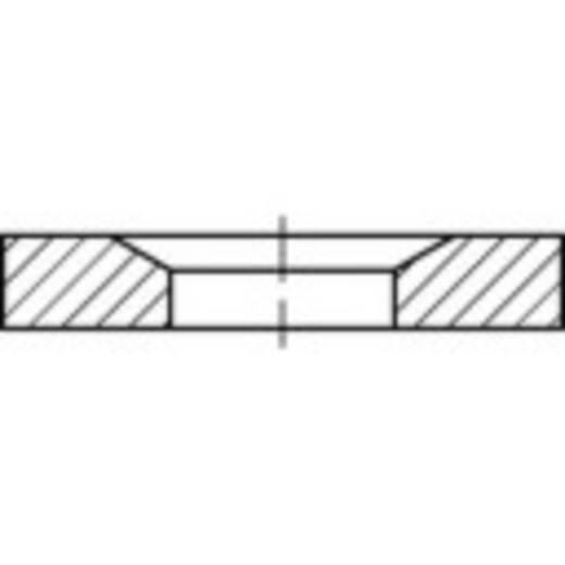 TOOLCRAFT 137916 Conische zetels DIN 6319 Staal 10 stuks