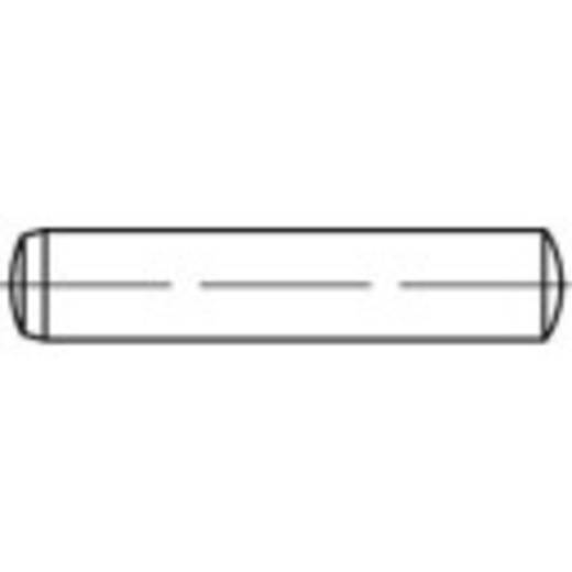 TOOLCRAFT 137995 Cilindrische pen (Ø x l) 4 mm x 45 mm Staal 100 stuks