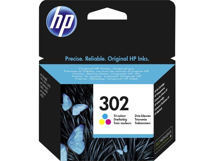 HP Inkt 302 Origineel Cyaan, Magenta, Geel F6U65AE