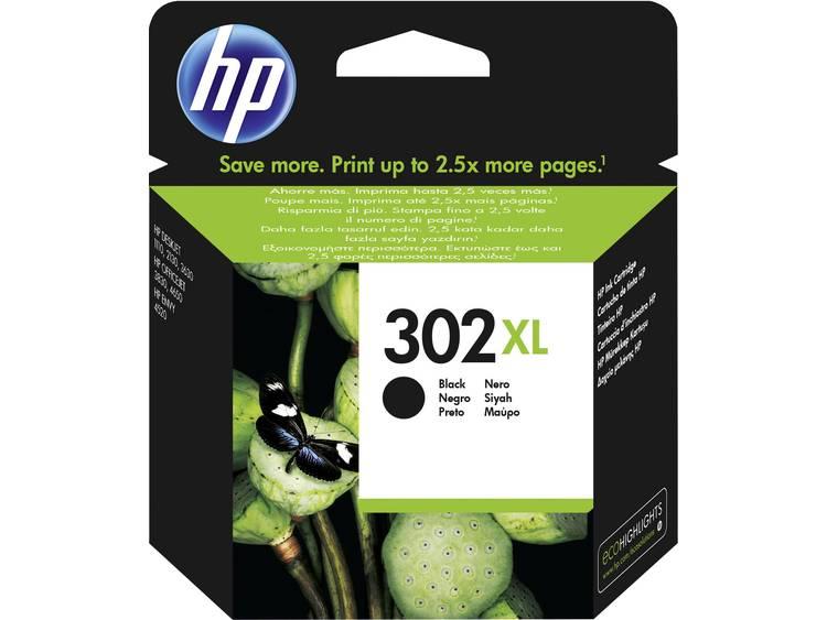 HP Inkt 302XL Origineel Zwart F6U68AE
