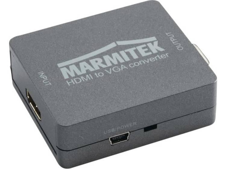 AV Converter [1x HDMI-bus 2x VGA bus, Jackplug female 3.5 mm]