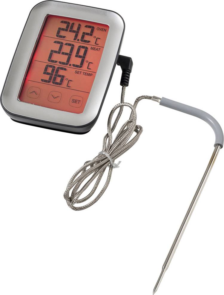 Sunartis ME216 Keukenthermometer bewaking van kerntemperatuur. kabelsensor. automatische uitschakeling. alarm