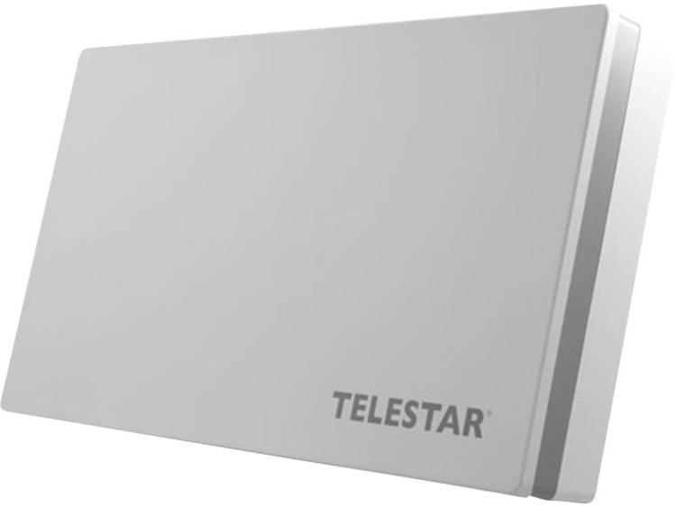 Telestar Digiflat 1 Flachantenne Satellietschotel Lichtgrijs