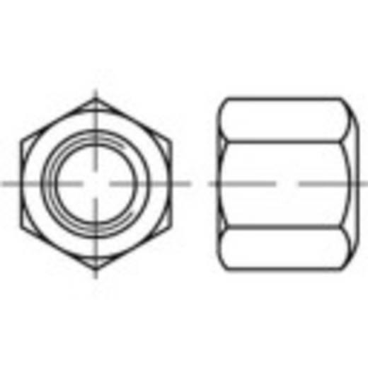 Zeskantmoeren M10 DIN 6330 Staal galvanisch verzinkt 50 stuks TOOLCRAFT 138148
