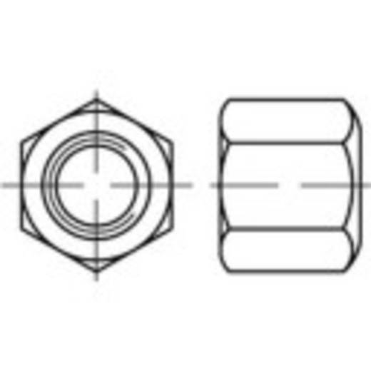 Zeskantmoeren M24 DIN 6330 Staal galvanisch verzinkt 10 stuks TOOLCRAFT 138155