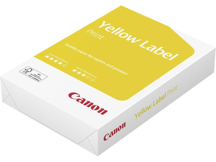 Canon Yellow Label Printpapier DIN A4 80 g-m² 500 vellen Wit