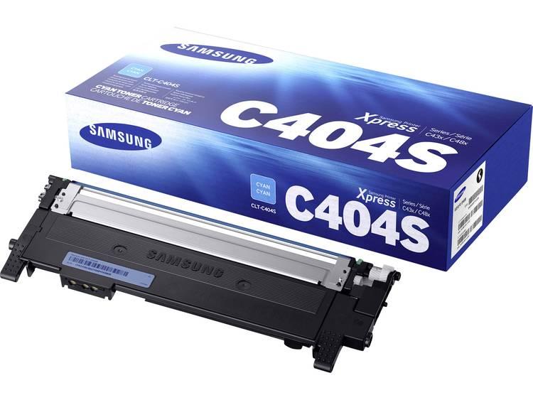 Samsung Tonercassette CLT C404S ST966A Origineel Cyaan 1000 bladzijden